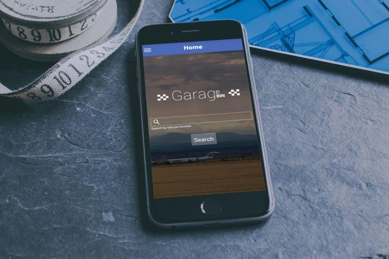 GarageBin Android App