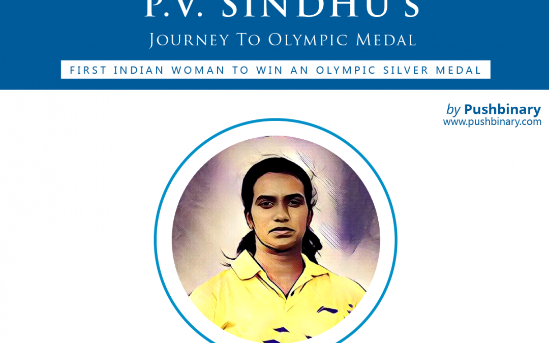 P. V. Sindhu – Journey to Olympic Medal [Infographic]