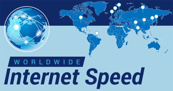 Worldwide Internet Speed & Cost of Data – Infographic